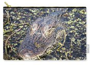 Camouflaged Gator Carry-all Pouch by Carol Groenen
