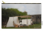 Camp At Goliad Carry-all Pouch