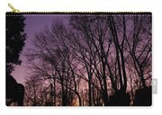 Camp Fire Sunset Carry-all Pouch
