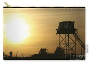Camp Warhorse Guard Tower At Sunset Carry-all Pouch