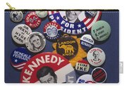 Campaign Buttons Carry-all Pouch by Granger