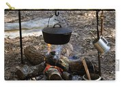 Campfire Cooking Carry-all Pouch by David Lee Thompson