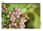 Camphorweed Wildflowers And Honey Bee Carry-all Pouch