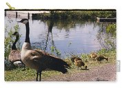 Canadian Geese At Trojan Lake Ny Carry-all Pouch