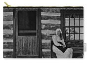 Canadian Gothic Monochrome Carry-all Pouch by Steve Harrington
