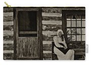 Canadian Gothic Sepia Carry-all Pouch