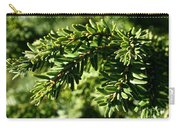 Canadian Hemlock Tips Carry-all Pouch