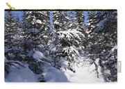 Canadian Winter Scene Carry-all Pouch