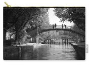 Canal Of St. Martin Bw Carry-all Pouch