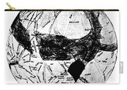 Canals Of Mars, Lowell, 1909 Carry-all Pouch