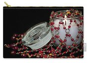 Candle And Beads Carry-all Pouch by Carolyn Marshall