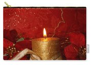 Candle Light Christmas Card Carry-all Pouch