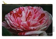 Candy Cane Rose Carry-all Pouch