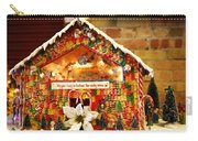 Candy Gingerbread House Carry-all Pouch
