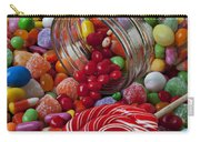 Candy Jar Spilling Candy Carry-all Pouch