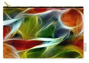 Candy Lily Fractal Panel 2 Carry-all Pouch