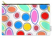 Candy Spots Carry-all Pouch by Louisa Knight
