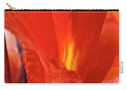 Canna Closeup Carry-all Pouch by Susan Herber