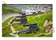 Cannons On Signal Hill Near St. John's Carry-all Pouch by Elena Elisseeva