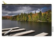 Canoe Lake Carry-all Pouch by Cale Best