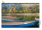 Canoes At Fontana Carry-all Pouch