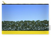 Canola Field And Trees Carry-all Pouch