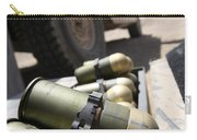 Cans Of Opened 40 Mm Grenades Carry-all Pouch