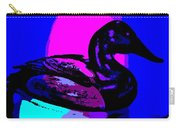 Canvasback Floating At Sunrise Carry-all Pouch