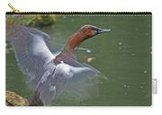 Canvasback In Action Carry-all Pouch