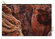 Canyon Glow Carry-all Pouch by Rick Berk