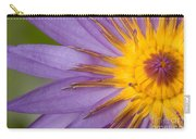 Cape Blue Waterlily Nymphaea Capensis Carry-all Pouch