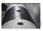 Cape Canaveral Lighthouse Black And White Carry-all Pouch