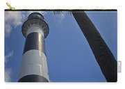 Cape Canaveral Lighthouse With Palm Tree Carry-all Pouch