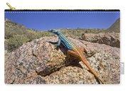 Cape Flat Lizard  South Africa Carry-all Pouch by Piotr Naskrecki