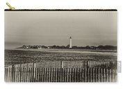 Cape May Light House In Sepia Carry-all Pouch