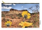 Capitol Flowers Carry-all Pouch
