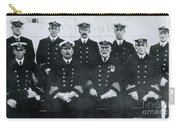 Captain And Officers Of The Titanic Carry-all Pouch