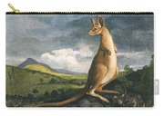 Captain Cook: Kangaroo, 1773 Carry-all Pouch
