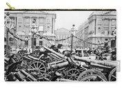 Captured German Guns At Palace De La Concorde In Paris - France Carry-all Pouch