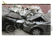 Car Crash In Cairo Carry-all Pouch