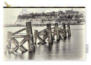 Cardiff Bay Old Jetty Supports Opal Carry-all Pouch
