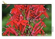 Cardinal Flower Full Bloom Carry-all Pouch