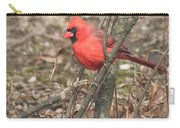Cardinal In A Bush Carry-all Pouch