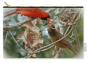 Cardinal Kisses Carry-all Pouch