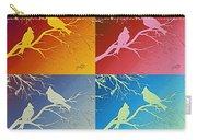 Cardinals Love 2 Pop Art Carry-all Pouch