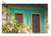 Caribbean Blue Carry-all Pouch