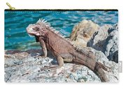 Caribbean Iguana Carry-all Pouch