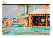 Caribbean-turks And Caicos Sandals Carry-all Pouch