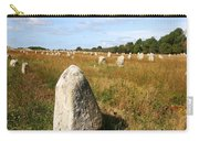 Carnac Standing Stones Carry-all Pouch