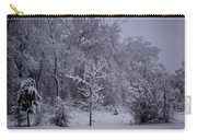 Carolina Snowfall Carry-all Pouch